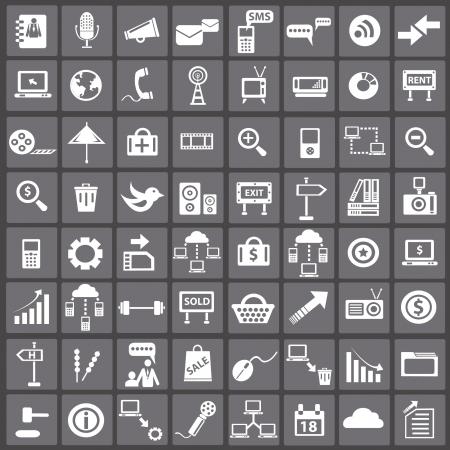 Social media   internet concept,icons,vector Stock Vector - 18625869