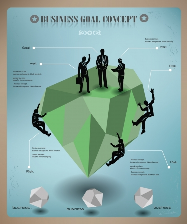 old business man: Business concept,abstract,gr aphics,vector