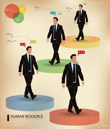 Business man,graphics design,vector Stock Vector - 18616795