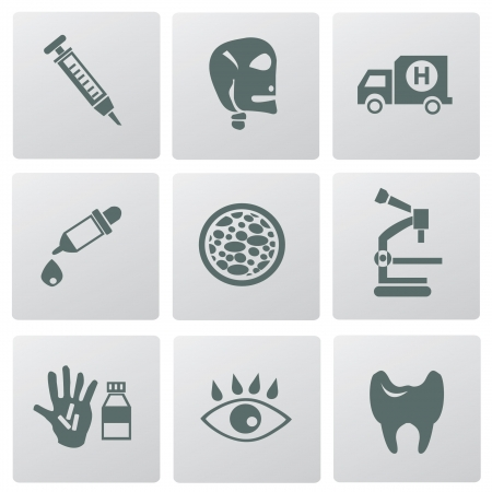Medical icons,vector  Stock Vector - 18625777