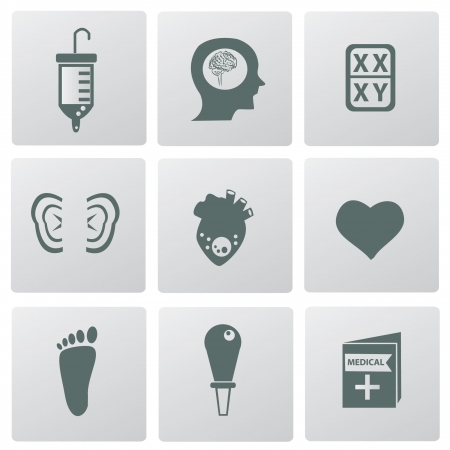 Medical icons,vector  Stock Vector - 18625882