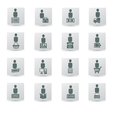 find similar images Shipping and business icon set,vector Stock Vector - 18616867