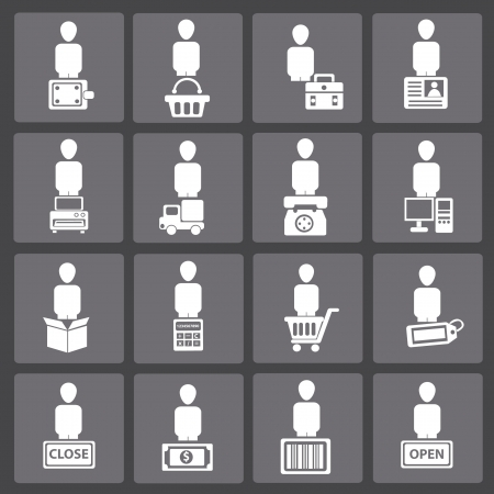 find similar images Shipping and business icon set,vector  Stock Vector - 18625805
