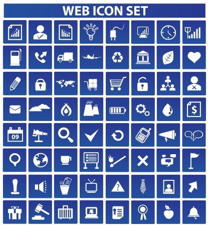 Web and media icon set,vector Stock Vector - 18625883