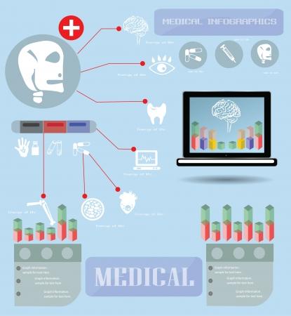 Medical infographics ,vector Stock Vector - 18626032