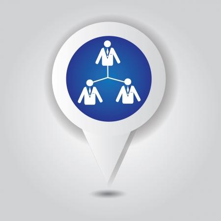 Human resource symbol,Vector Stock Vector - 18886942