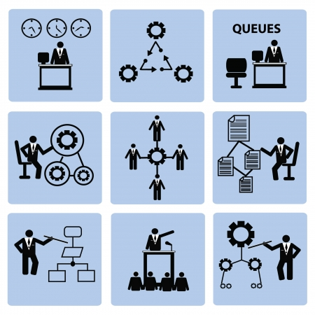 Employment and Business Icons,Vector  Vector