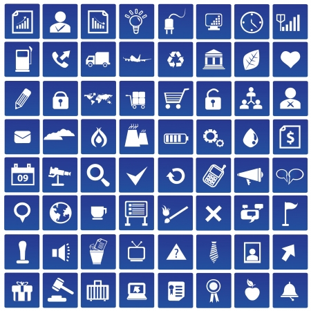 Web and media icon set,vector Stock Vector - 18824114