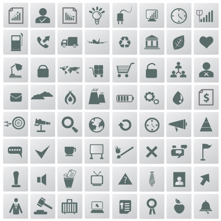 Web and media icon set,vector  Stock Vector - 18824111