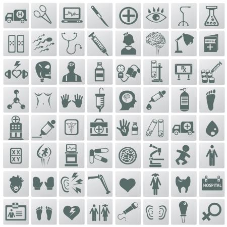 Medical icon set,Vector Stock Vector - 18824119