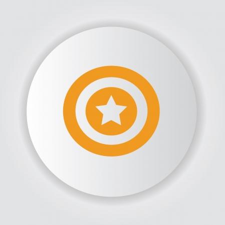 regular tetragon: Star symbol,Vector