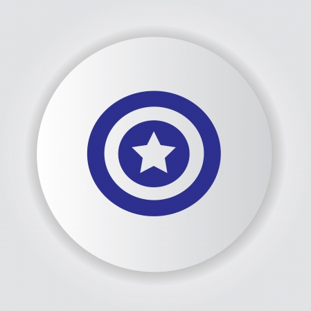 net bar: Star symbol,Vector