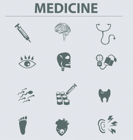 Medical icons,vector Stock Vector - 18750880