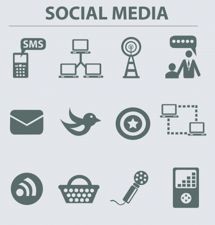 Web   internet icons,vector Stock Vector - 18750804