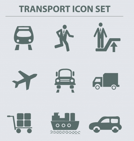 Transport icons,vcetor  Vector