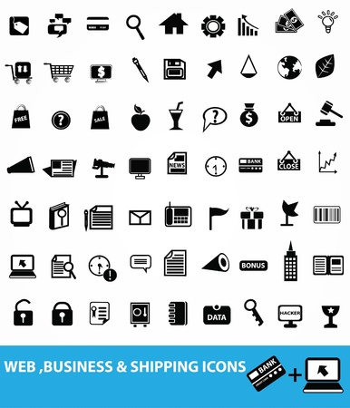 card folder: Web icon set, vector