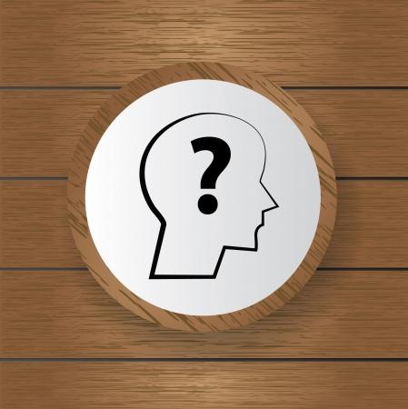 Question symbol,Vector  Vector