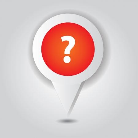 Question symbol,point area,Vector Stock Vector - 18684907