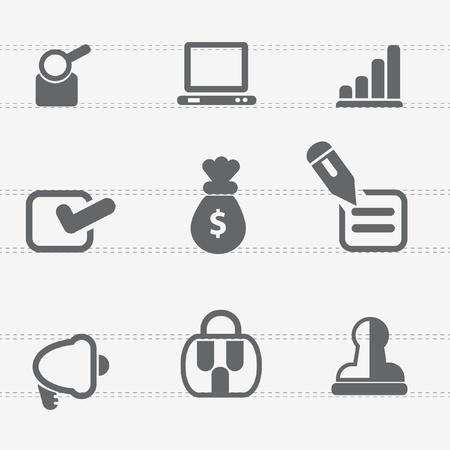 Web icon set,vector Stock Vector - 18823083