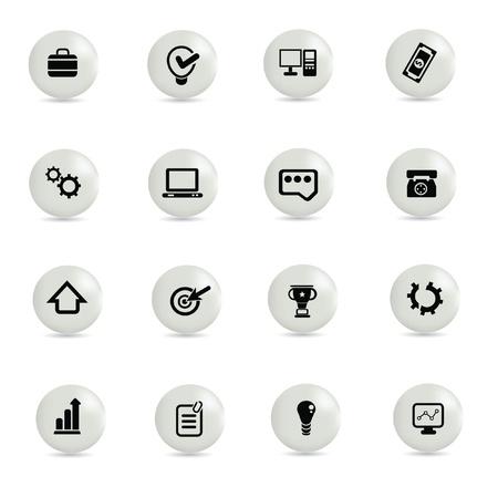 Web icon set,vector Stock Vector - 18823648