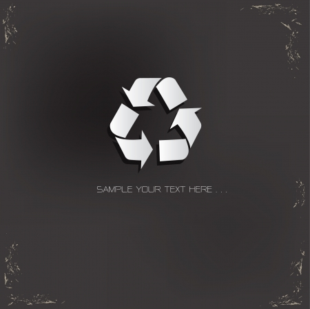 Recycle Sign,vector Stock Vector - 18823661