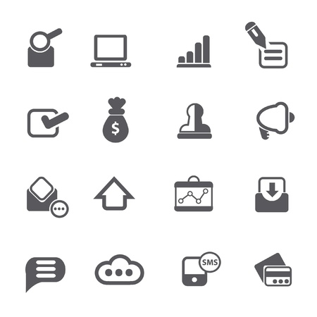 Business icons,vector  Vector