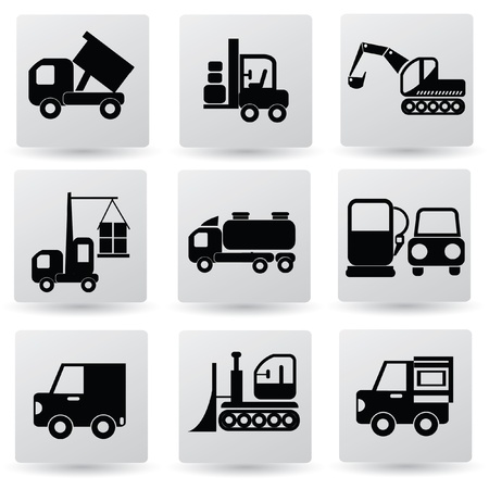 Car, transport, icon set,vector  Vector