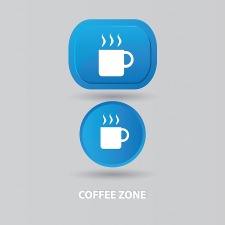 Coffee zone Vector