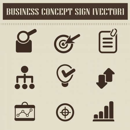 Human resource,business icons Vector