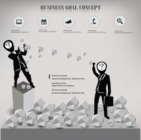 Human resource,business concept Vector