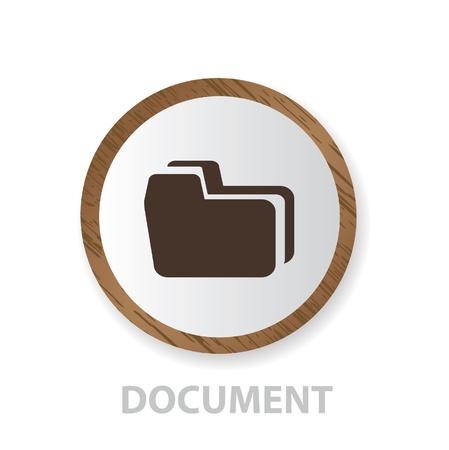 Folder sign  Stock Vector - 18780666