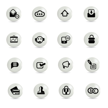 Web icons,vector  Stock Vector - 19337313