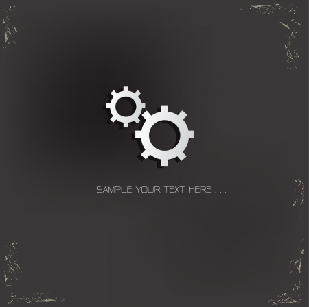Gear Sign Stock Vector - 19304246