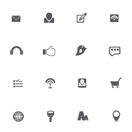 nota: Media icons