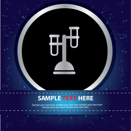 Science sign Stock Vector - 19208516