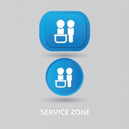 kunden service: Konzeption, Kundendienst Zeichen