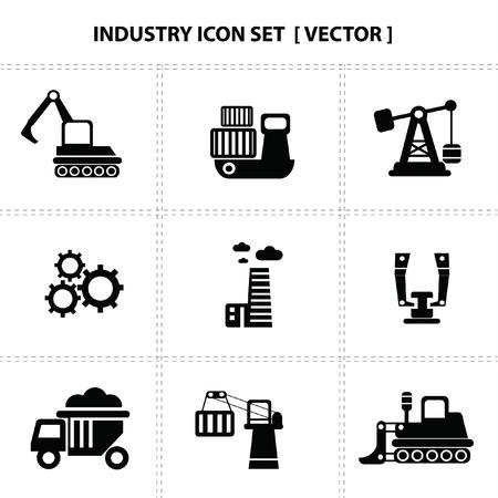 oil pipeline: Iconos de la industria