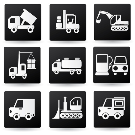 Industrial icons Stock Vector - 19207872
