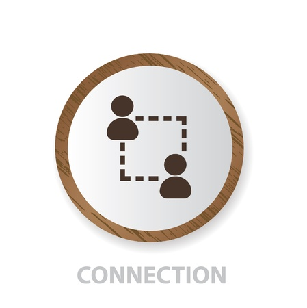 telephone mast: Connection sign