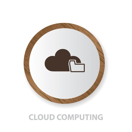 Cloud computing Stock Vector - 19207943