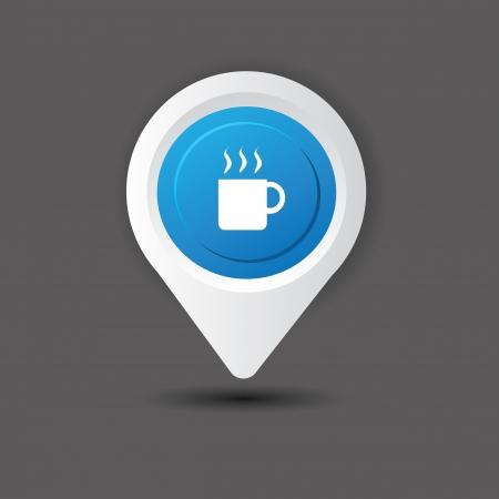 Coffee zone,vector  Vector