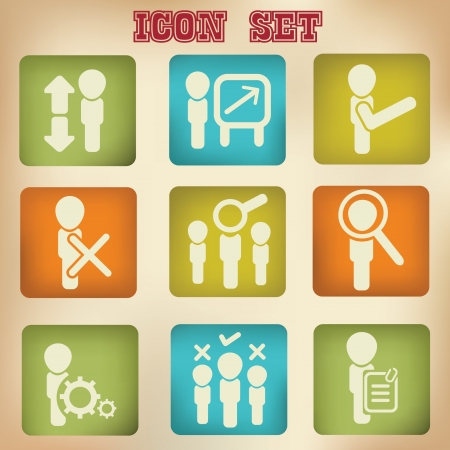 Business Icons,vector Stock Vector - 19725240