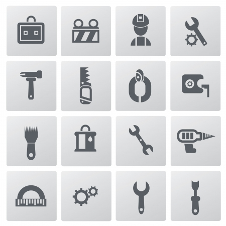 Constructor icons,building icons,vector Stock Vector - 19725048