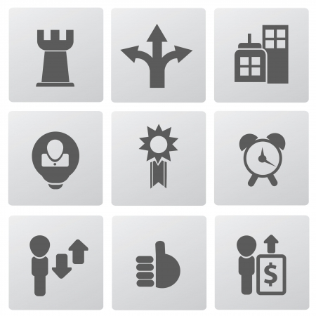 Web,business icons,vector Stock Vector - 19725029