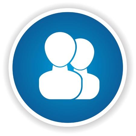 matrimonial: User sign,vector