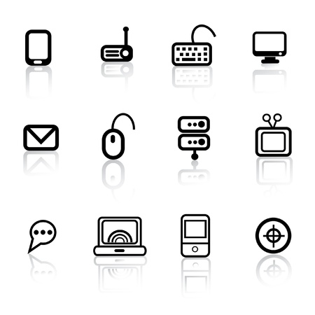 Hardware icons,vector  Illustration