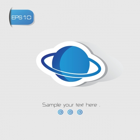 Planet sign,vector Stock Vector - 19656545