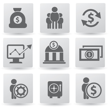 Finance icon set,vector  Vector