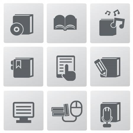 Education technology icon set,vector  Stock Vector - 19656458