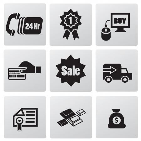 24 hr: E-commerce technology icons